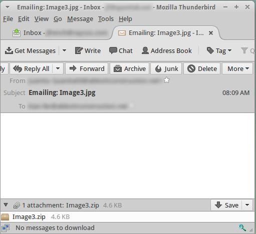 Zepto Ransomware in  hta files